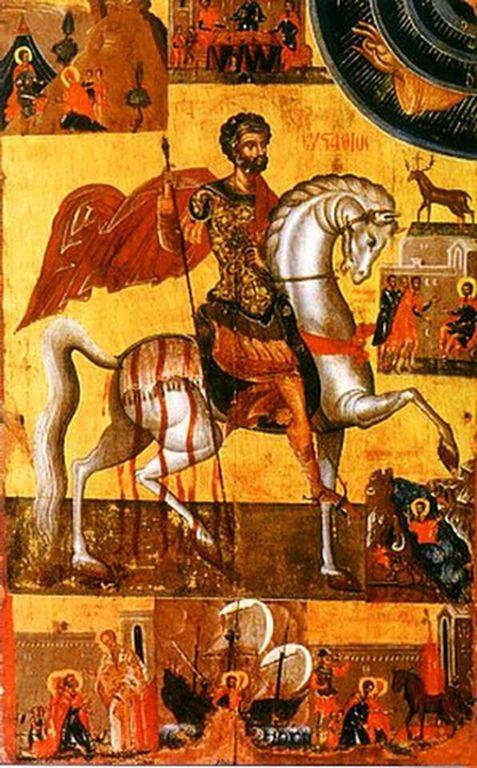 """Результат пошуку зображень за запитом """"Святого великомученика Євстахія Плакиди і тих, що з ним"""""""